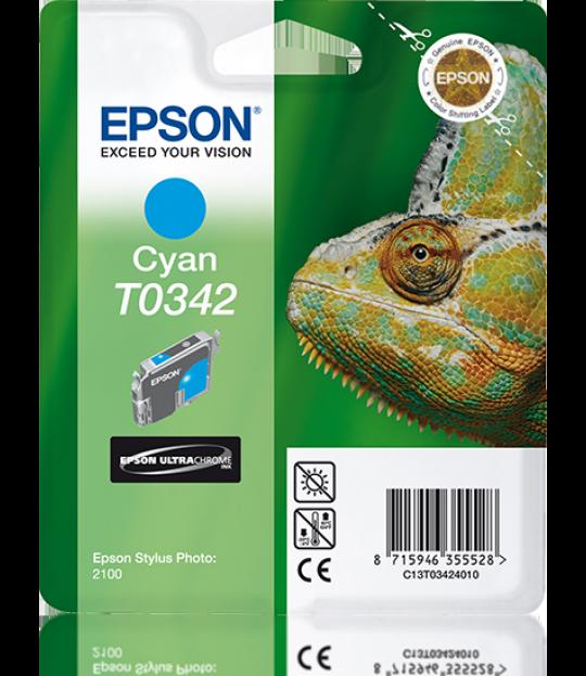 C13T034240 Cyan Ink Cartridge for Stylus Photo 2100