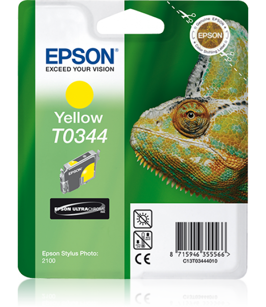 C13T034440 Yellow Ink Cartridge for Stylus Photo 2100