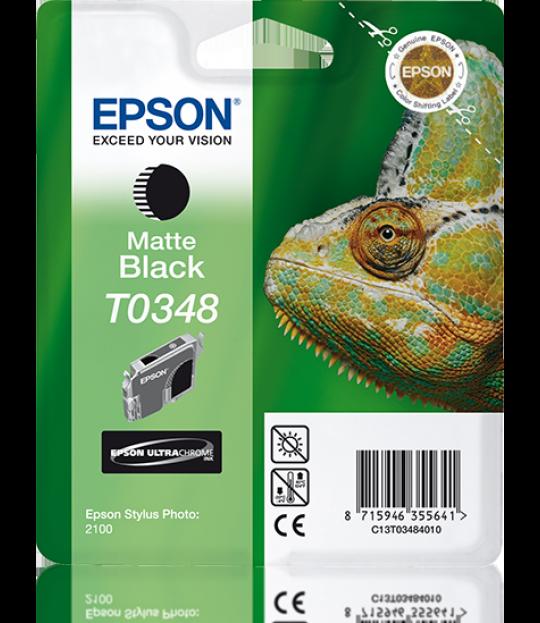 C13T034840 Matte Black Ink Cartridge for Stylus Photo 2100