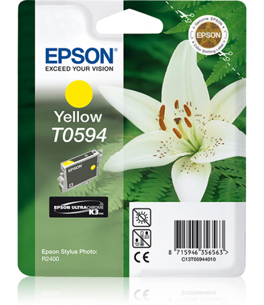 T059 Stylus R2400 Yellow Ink Cartridge