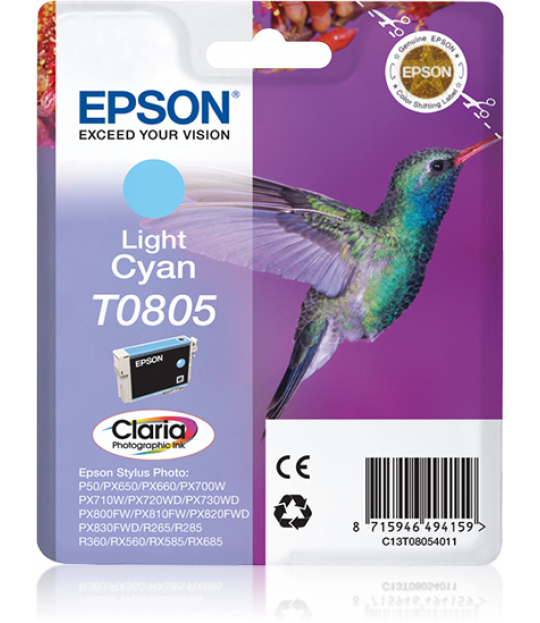 T0805 Light Cyan Ink Cartridge